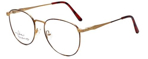 Linda Evans Designer Reading Glasses LE-169 in Demi Amber 53mm