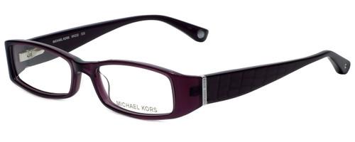 3a78d52e9252 Michael Kors Designer Eyeglasses MK232-505 in Plum 50mm :: Custom Left & Right  Lens