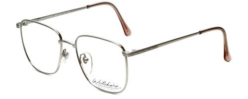 Wilshire Designer Eyeglasses Mod-1221 in Silver 50mm :: Custom Left & Right Lens