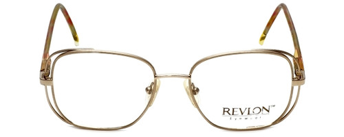 Revlon Designer Eyeglasses 1004 in Satin Gold 54mm :: Rx Single Vision