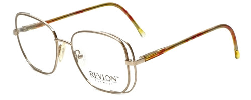 Revlon Designer Eyeglasses 1004 in Satin Gold 54mm :: Rx Bi-Focal