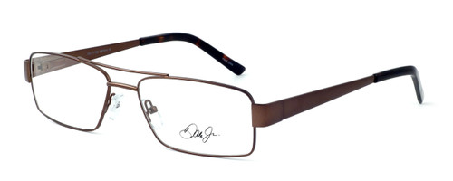 Dale Earnhardt, Jr. 6783 Designer Reading Glasses in Brown