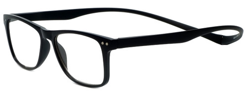 Magz Designer Eyeglasses Astoria in Black 50mm :: Custom Left & Right Lens