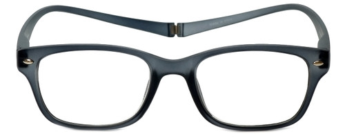 Magz Designer Eyeglasses Greenwich in Smoke 50mm :: Custom Left & Right Lens