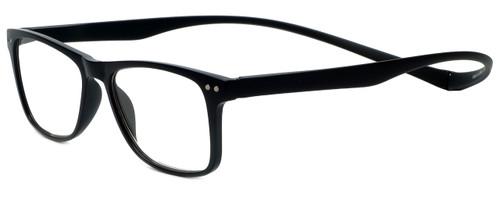 Magz Designer Eyeglasses Astoria in Black 50mm :: Rx Single Vision