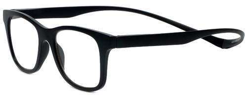 Magz Designer Eyeglasses Chelsea in Black 50mm :: Rx Single Vision