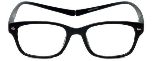 Magz Designer Eyeglasses Greenwich in Black 50mm :: Rx Single Vision