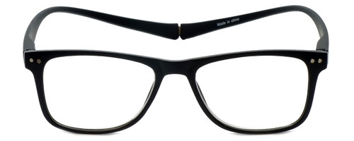 Magz Designer Eyeglasses Astoria in Black 50mm :: Progressive