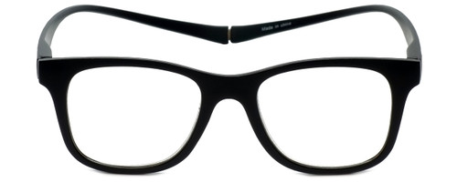 Magz Designer Eyeglasses Chelsea in Black 50mm :: Progressive