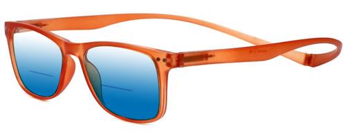 Magz Astoria Magnetic Polarized Bi-Focal Sunglasses (Mirror Lenses)
