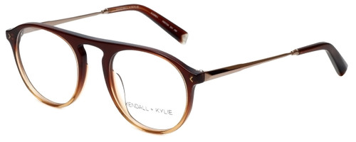Kendall + Kylie Designer Eyeglasses Audrey KKO104-241 in Brown 50mm :: Custom Left & Right Lens