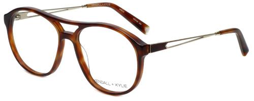 Kendall + Kylie Designer Eyeglasses AmeliaKKO128-209 in Tortoise 56mm :: Rx Single Vision