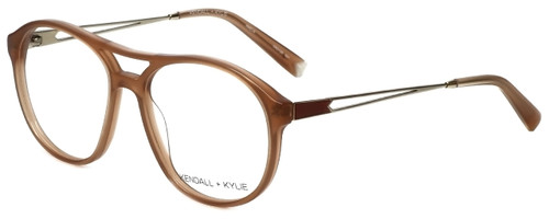 Kendall + Kylie Designer Eyeglasses AmeliaKKO128-681 in Pink 56mm :: Rx Single Vision