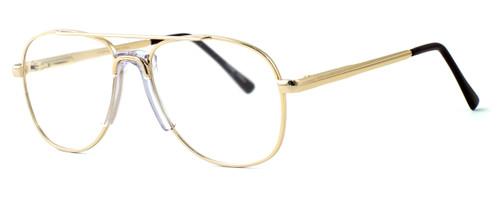 Fashion Optical Designer Reading Glasses Michael in Gold 48mm