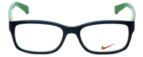 Nike Designer Eyeglasses Nike-5513-325 in Dark Sea Mineral Teal 47mm :: Rx Single Vision