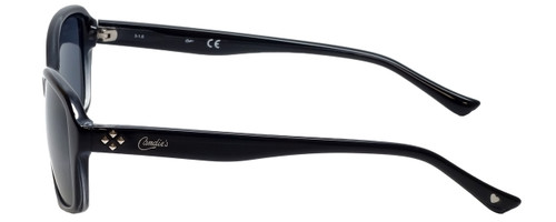 Candie's Designer Sunglasses CA1000-03A in Black with Grey Lens