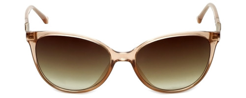 Candie's Designer Sunglasses CA1005-27F in Pink Crystal with Brown Lens