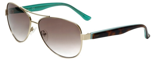 Candie's Designer Sunglasses CA1006-32F in Gold 59mm