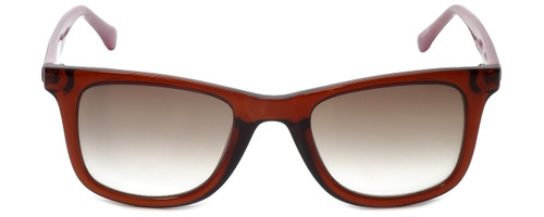 Candie's Designer Sunglasses CA1007-74F in Pink with Brown Gradient Lens