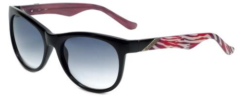 Candie's Designer Sunglasses Aria in Black with Grey Gradient Lens