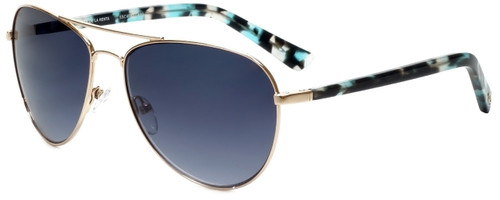Oscar de la Renta Designer Sunglasses SSC4041-450 in Gold 59mm