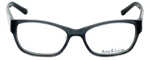 Ana & Luca Designer Eyeglasses Bianca in Grey 52mm :: Custom Left & Right Lens