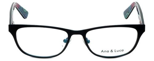 Ana & Luca Designer Eyeglasses Chiara in Black 51mm :: Rx Single Vision