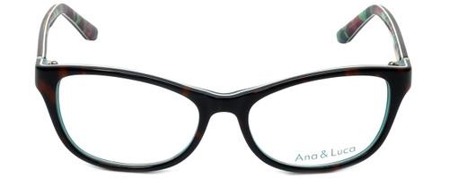 Ana & Luca Designer Eyeglasses Silvia in Tortoise 52mm :: Rx Single Vision