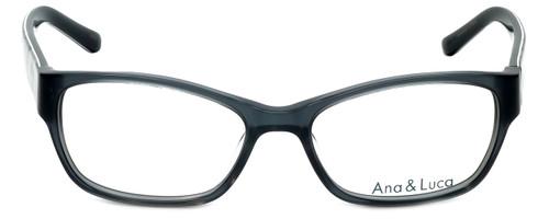 Ana & Luca Designer Eyeglasses Bianca in Grey 52mm :: Rx Bi-Focal