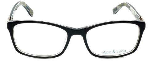 Ana & Luca Designer Eyeglasses Francesca in Black 52mm :: Rx Bi-Focal