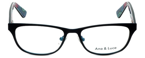 Ana & Luca Designer Reading Glasses Chiara in Black 51mm