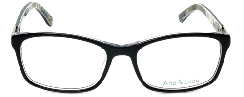 Ana & Luca Designer Reading Glasses Francesca in Black 52mm