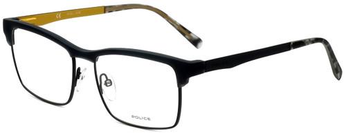 Police Designer Eyeglasses Kick Off 3VPL260-09U5 in Rubber Milk Grey 54mm :: Custom Left & Right Lens