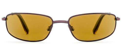 Reptile Designer Polarized Sunglasses Genus in Espresso with Amber Lenses