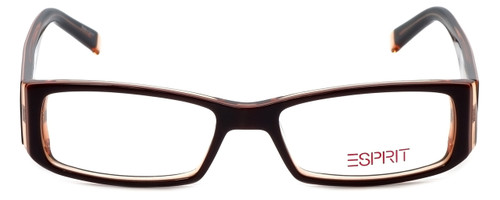 Esprit Designer Eyeglasses ET17333-535 in Brown 49mm :: Custom Left & Right Lens
