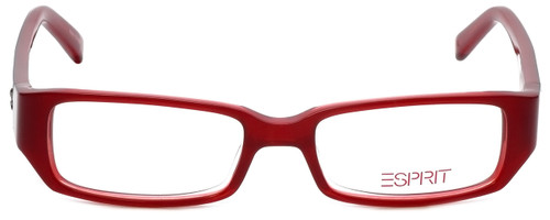 Esprit Designer Eyeglasses ET17345-531 in Red 47mm :: Custom Left & Right Lens