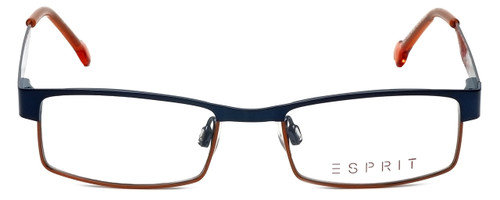 Esprit Designer Eyeglasses ET17412-543 in Blue Orange 45mm :: Custom Left & Right Lens