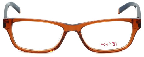 Esprit Designer Eyeglasses ET17340-555 in Orange 51mm :: Rx Bi-Focal