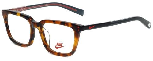 Nike Designer Eyeglasses 5KD-215 in Tokyo Tortoise 47mm :: Custom Left & Right Lens
