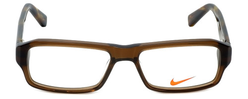 Nike Designer Eyeglasses 5524-200 in Crystal Brown 48mm :: Rx Bi-Focal