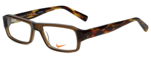 Nike Designer Reading Glasses 5524-200 in Crystal Brown 48mm