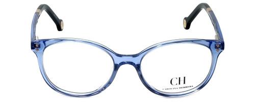 Carolina Herrera Designer Eyeglasses VHE612-095A in Blue 49mm :: Custom Left & Right Lens