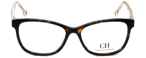 Carolina Herrera Designer Eyeglasses VHE676K-0722 in Havana 54mm :: Rx Single Vision