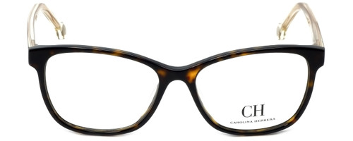 Carolina Herrera Designer Reading Glasses VHE676K-0722 in Havana 54mm
