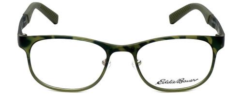 Eddie Bauer Designer Eyeglasses EB32001-GN in Green 51mm :: Custom Left & Right Lens
