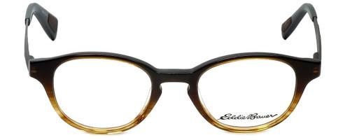 Eddie Bauer Designer Eyeglasses EB32014-BR in Brown 47mm :: Custom Left & Right Lens