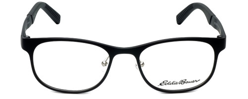Eddie Bauer Designer Eyeglasses EB32001-BK in Black 51mm :: Rx Single Vision