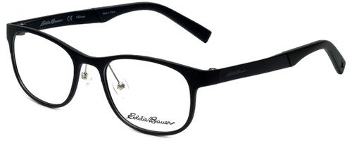 Eddie Bauer Designer Eyeglasses EB32001-BK in Black 51mm :: Progressive