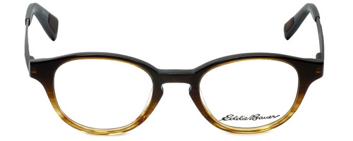 Eddie Bauer Designer Eyeglasses EB32014-BR in Brown 47mm :: Rx Bi-Focal