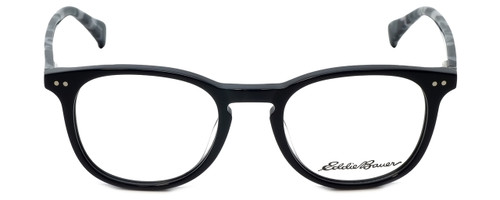 Eddie Bauer Designer Reading Glasses EB32210-BK in Black 49mm